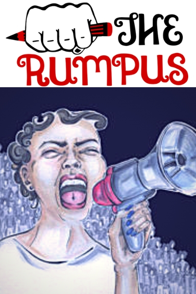 Logos for The Rumpus and their ENOUGH column